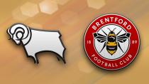 Derby County - Brentford (Highlights)