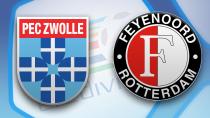 PEC Zwolle - Feyenoord Rotterdam (Highlights)