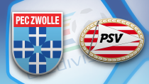 PEC Zwolle - PSV Eindhoven (Highlights)