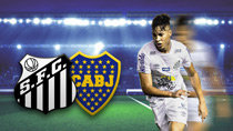 FC Santos (BRA) - Boca Juniors (ARG) (Highlights)