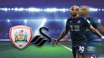 FC Barnsley - Swansea City (Highlights)