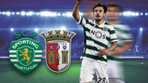 Sporting Lissabon - Sporting Braga (Highlights)