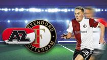 AZ Alkmaar - Feyenoord Rotterdam (Highlights)