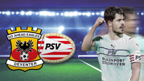 Go Ahead Eagles - PSV Eindhoven (Highlights)